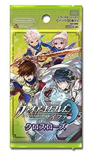 """Booster Pack /""""Cross Rose/"""" TCG Fire Emblem 0 Cipher 1pack 10 cards included"""