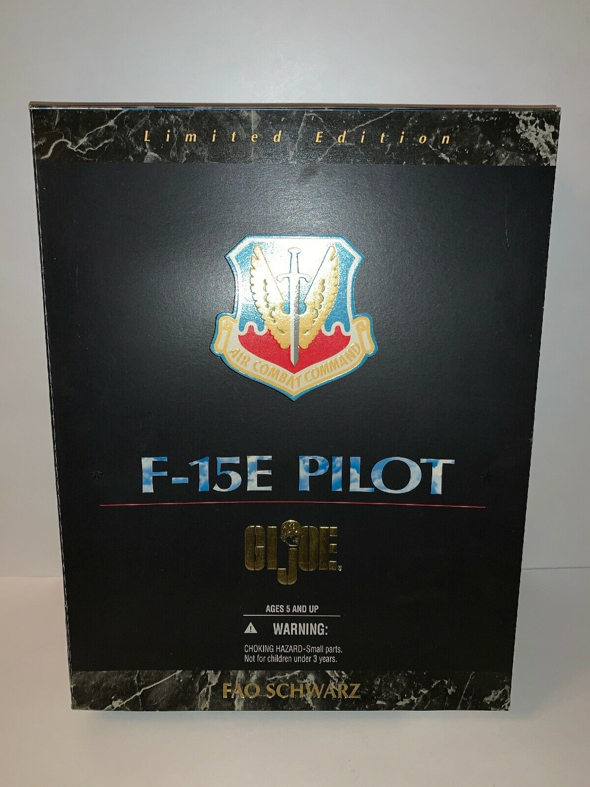 1996 Hasbro Hasbro Hasbro Gi Joe 12  Action Figure F-15E Pilot Limited Edition, MISB, (B70) a05ce6