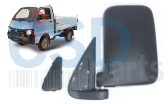 Fiat PUNTO 2003 specchio specchietto retrovisore meccanico sinistro SX lat guida
