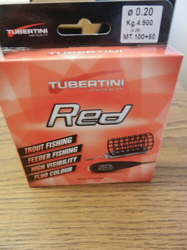Trout Fishing,Feeder Fishing High Visibility,Fluo Color, Tubertini Schnur UD