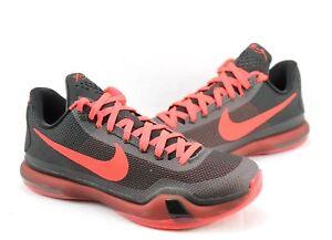 33100acaa439 Nike Men s Basketball Shoes Kobe X 10  Bright Crimson  705317-060 ...