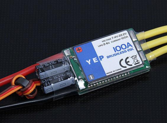 RC RC RC Hobbyre YEP 100A (26S) SBEC Brushless Speed Controller 977e44