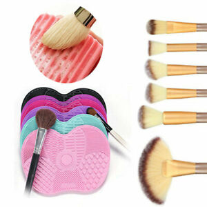 Silicone-Makeup-Brush-Cleaner-Pad-Washing-Scrubber-Board-Cleaning-Mat-Tools