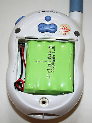 Tomy Walkabout Premier Advance TP1344B Baby Monitor Rechargeable Battery 4.8V