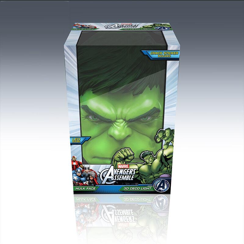 Marvel Marvel Marvel 3D LED Nachtlicht Hulk Man Wall Mounted 3D FX Lampe | Moderne und elegante Mode  4e1f45
