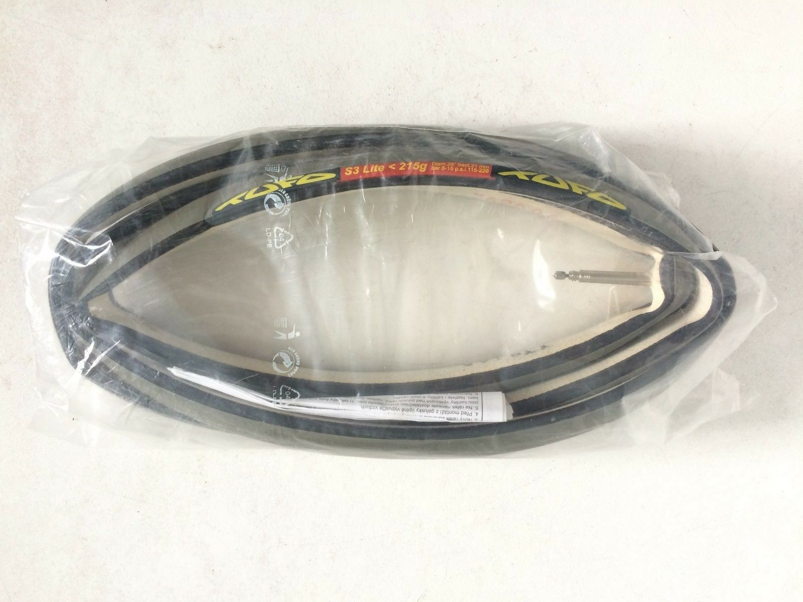 Reifen Schlauch TUFO S3 LITE grau 215gr 215gr 215gr 700x22mm neu 543b94