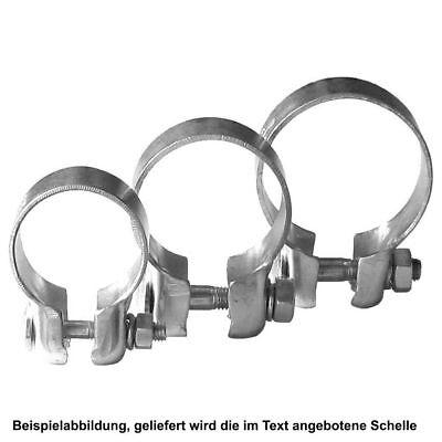 Auspuffschelle Breitbandschelle Ø 46,7 VW 3 Stück