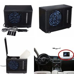 air conditioner 12v portable home car cooler cooling fan water ice air condition ebay. Black Bedroom Furniture Sets. Home Design Ideas