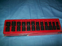 Snap-on™ 1/2 Drive 1/2 To 1 3/16 6-point Impact Swivel Socket Set 312ipl