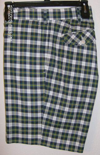 con Nuovo L Green 9 36 Plaid Ralph Blue Polo etichette Shorts Lauren Uomo W qxHaZv