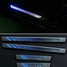 4PCS LED Door sill scuff plate step trim For Mazda CX5 2013 2014 2015 2016 2017