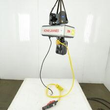 Kone Cranes 12 Ton Electric Hoist 12 Lift 2 Speed 328 Fpm 480v 3ph