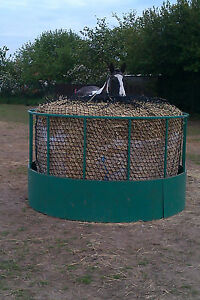 Giant-round-bale-hay-net-slow-feed-saver-silage-horse-2-034-trickle-feed-UK-6ft