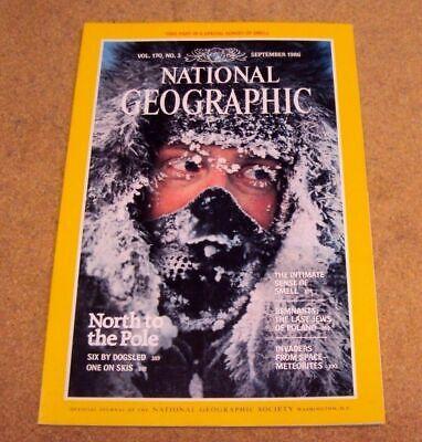 2019 Nuevo Estilo National Geographic Revista Septiembre 1986 North Pole Meteorites Polonia Jews