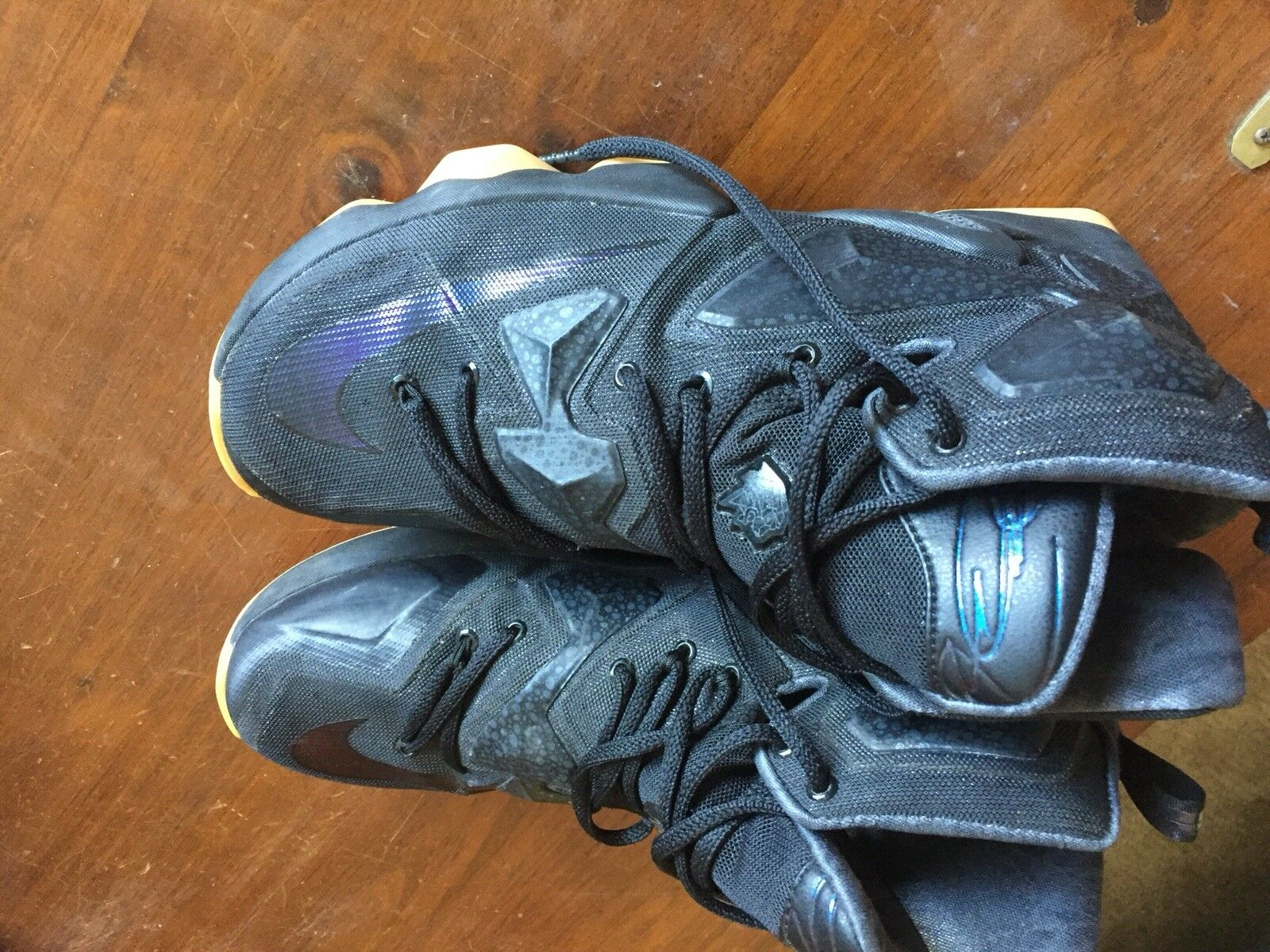 MENS NIKE LEBRON XIII 13 BLACK LION Size 9 Lakers 11 12 14 15 Soldier