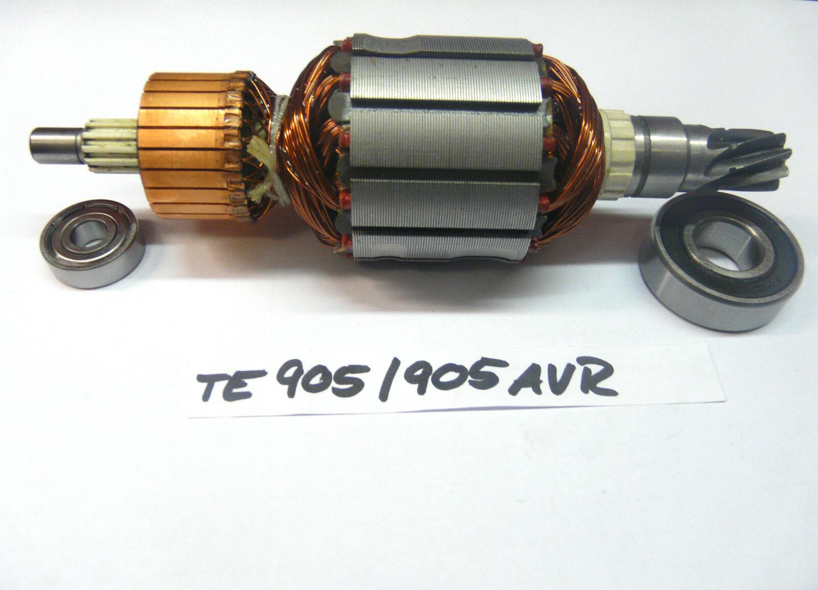 Hilti TE 905, TE 905 AVR Rotor mit beiden Lagern    NEU