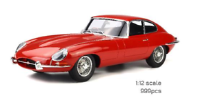GT SPIRIT 1 12 SCALE JAGUAR E TYPE, CARMEN RED LIMITED EDITION 999 PIECES