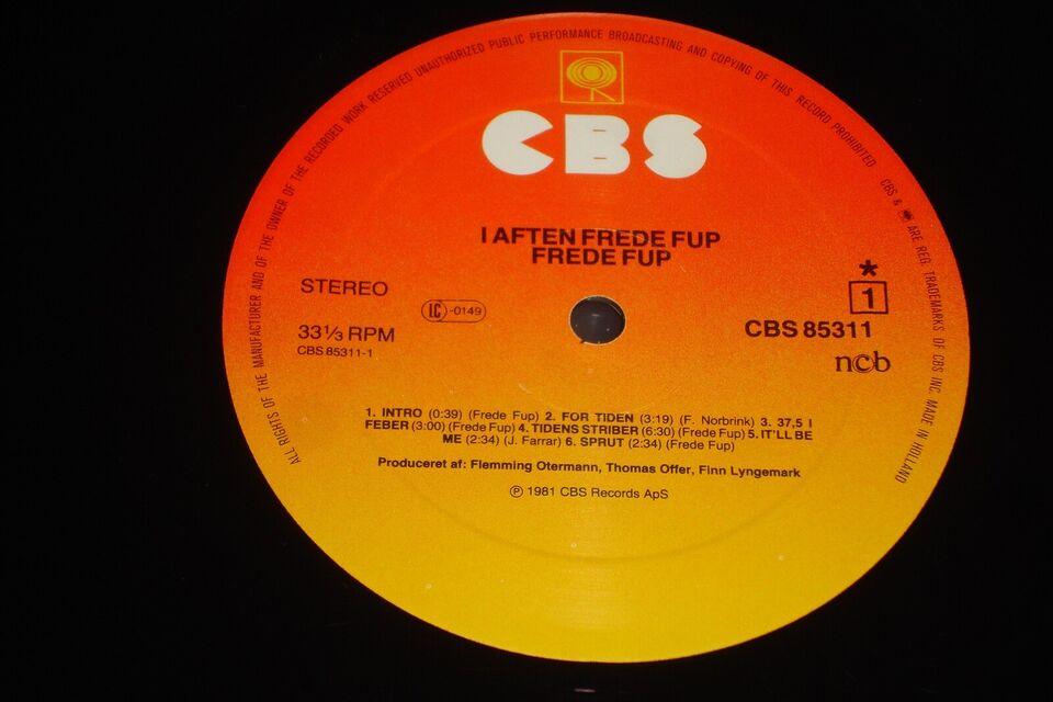 LP, Frede Fup, I Aften: Frede Fup