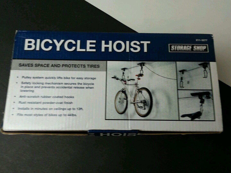 3 x Bicycle Hoist By Storage Shop