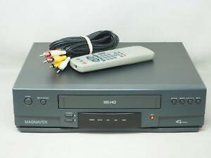 Details about MAGNAVOX VR930AT01 VCR VHS Player/Recorder Works Great! Free  Shipping!