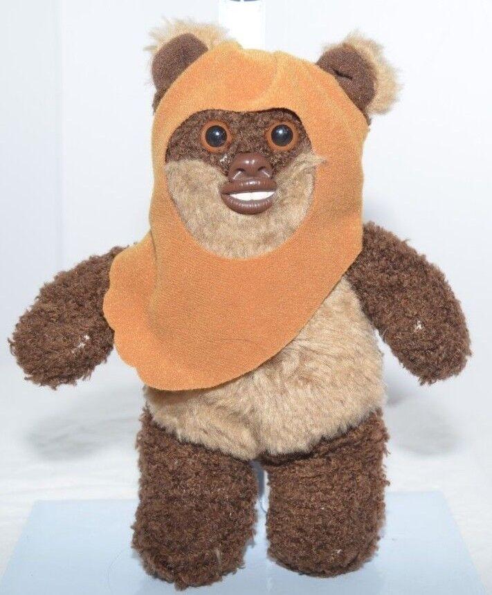 VTG Kenner Star Wars Buddies 1997 Lucas Film Ltd EWOK Small Plush Stuffed Toy
