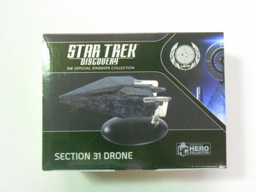 "Eaglemoss Star Trek Discovery Starships Collection #25 /""section 31 Drone/"""