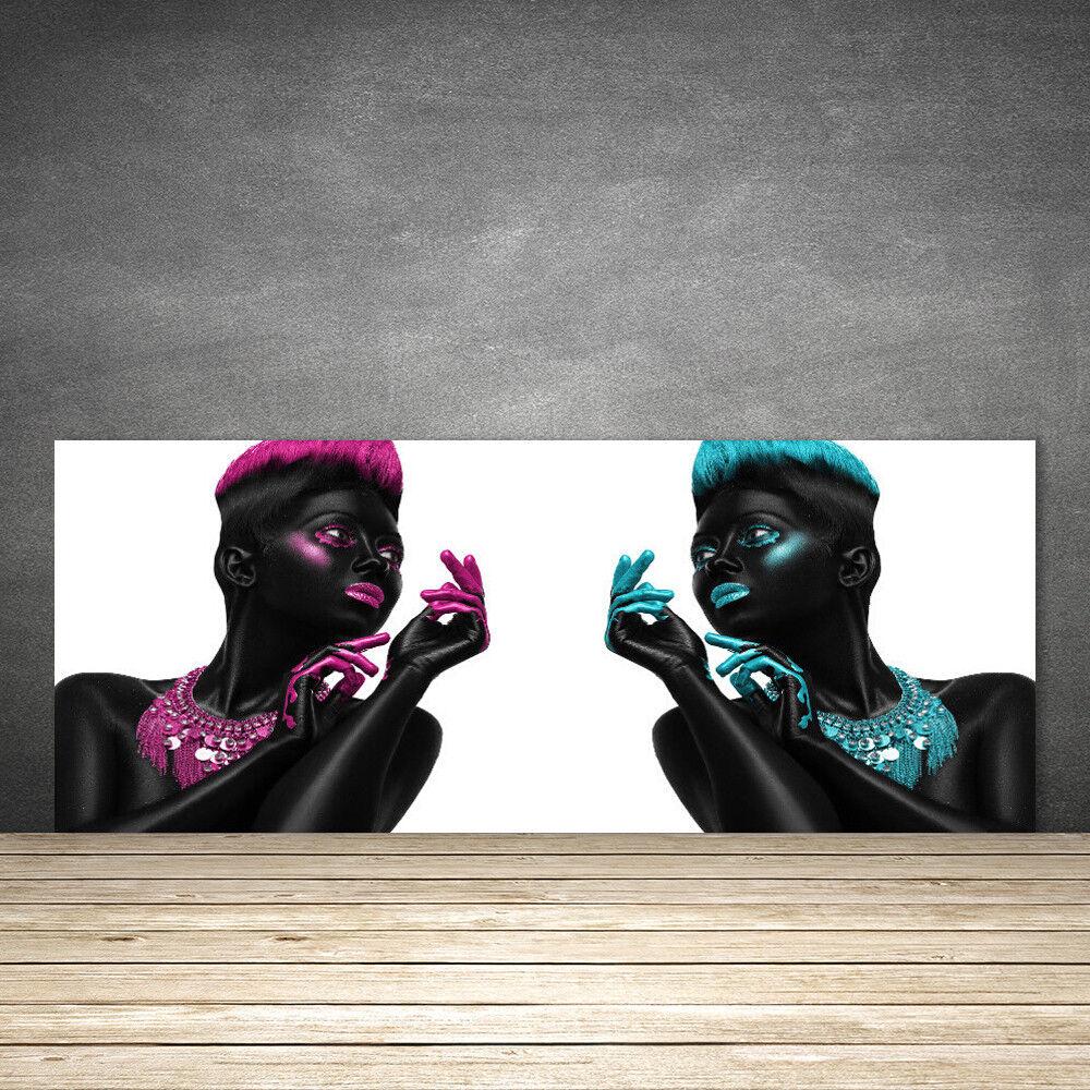 Crédence de cuisine en verre Panneau 125x50 Art Figures