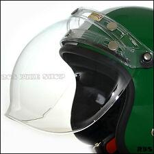 Flip up clear Lens shield visor for Cafe racer open face helmet Shoei BELL Arai