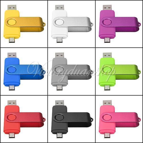 2/4/8GB Micro USB 2.0 Flash Pen Drive Memory Stick for OTG Smart phone Tablet PC