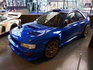 Rpg Wrc Rally Frp Roof Vent Scoop For 93 01 Subaru Impreza