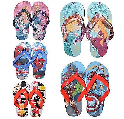 Avengers Flip Flops 11-11.5 Footwear