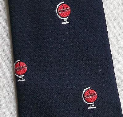 Buono Vintage Cricket Cravatta Da Uomo Cravatta Retro Sport-mostra Il Titolo Originale Design Accattivanti;