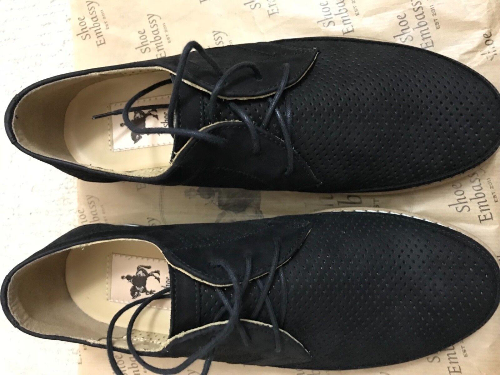 Schuhe Embassy men's schuhe, 95 Größe 38, schwarz,  95 schuhe, 79f92b