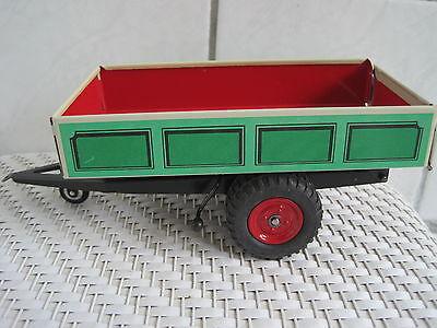 Trecker Traktor *neu* Komplette Artikelauswahl Spielzeug Diplomatisch Blechspielzeug Anhänger Einachser Kippbar 1:25 Passend Z Baufahrzeuge & Traktoren