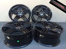 17 Zoll Wheelworld WH12 Felgen Schwarz 7,5 x17 et35 5x120 BMW Coupe Cabrio CSL M
