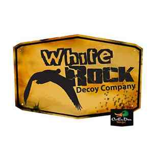 NEW-WHITE-ROCK-DECOY-COMPANY-SNOW-GOOSE-HUNTING-LOGO-STICKER-DECAL-15-034