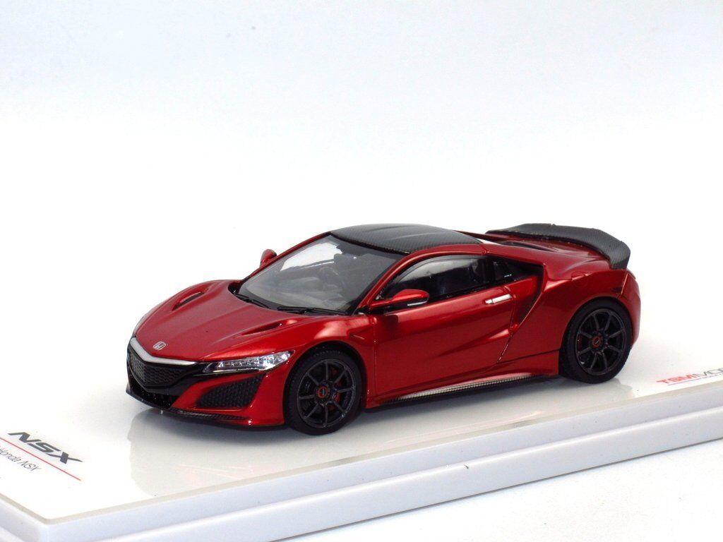 TSM MODEL 2017 HONDA NSX avec Modulo Wheels Valencia rouge 1 43