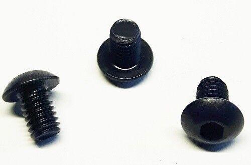 ISO 7380 50 Stück Linsenkopfschraube M3x6mm-schwarz-Stahl-hochfest 10.9