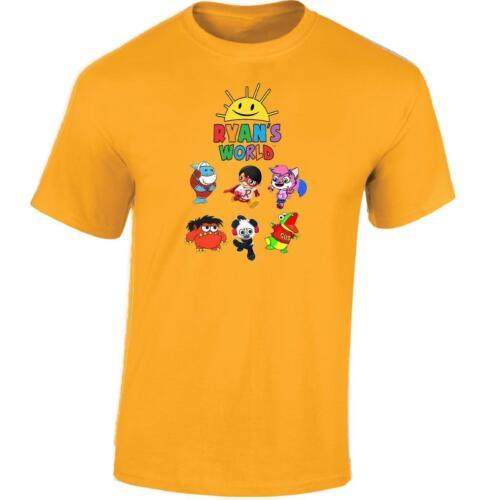 Ryans World Kids T Shirt Girls Boys Birthday Gift Present Toy Review Tee Top