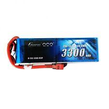 Gens Ace 3300mAh 4S 14.8V 25C 50C Lipo Battery Pack Deans Plug Quad Heli Gaui US