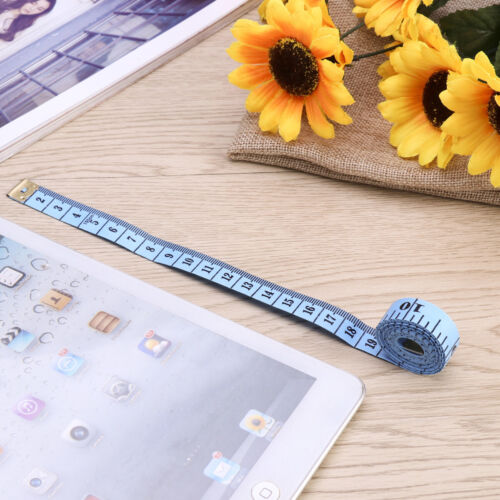 12Pcs Soft Tape Measure For Tailor Sewing Body Measuring Ruler 150CM//60 Inch