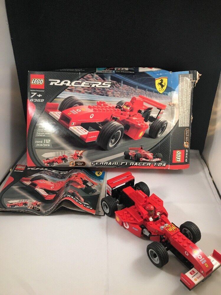 LEGO RACERS  8362 FERRARI F1 Racer 1:24 SCALE