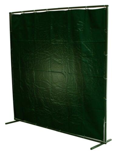 6 FOOT X 6 FOOT Dark Green Protective Welding Curtain