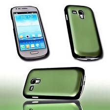Alu Back Cover Handy Case Hülle Schale Schutz Grün  für Samsung Galaxy S3 Mini