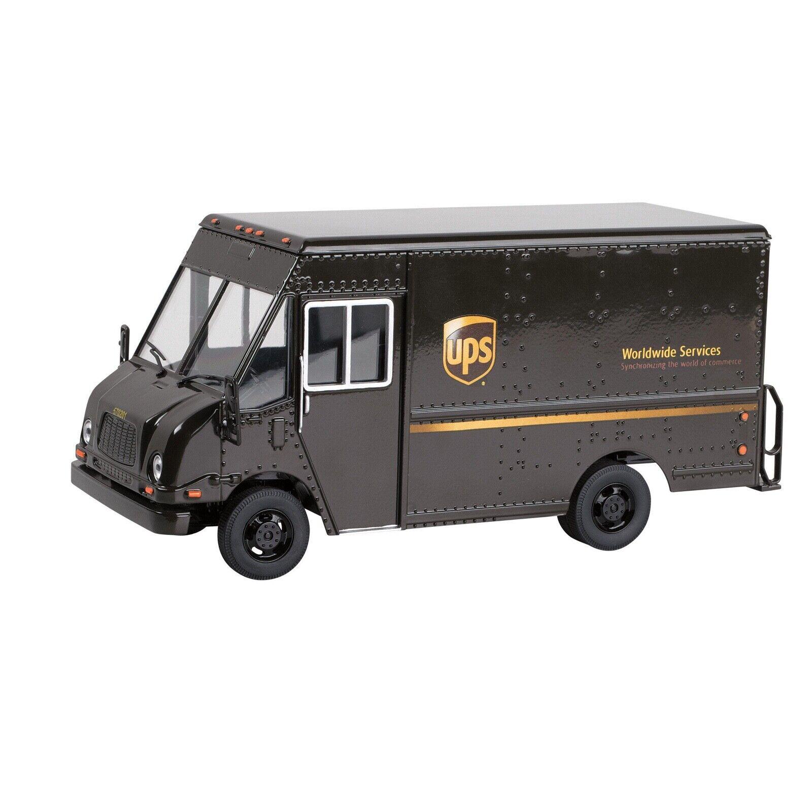 United Parcel Service UPS Paquet P57 Métal Réplique Voiture Modèle camion de livraison