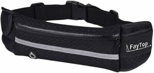 Running-Belt-Waist-Pack-Waist-Bag-with-Water-Bottle-Holder-Black
