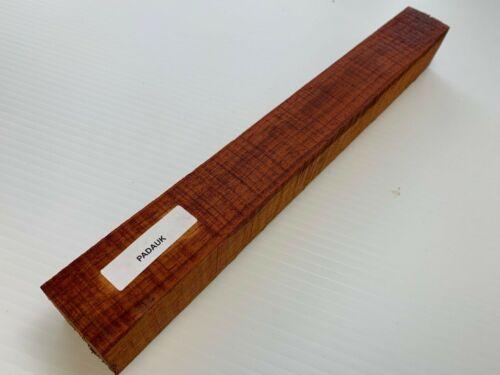 "Padauk Hobby Wood Turning Blanks Size Beautiful 1/"" X 1/"" X 12/"" Free Ship!"