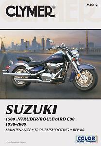 Suzuki 1500 Intruder/Boulevard C90 1998-2009 (Clymer Color ...