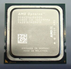 OS2419NBS6DGN QTY 1x AMD Opteron 2419 EE 1.8 GHz Six Core CPU Socket F 1207