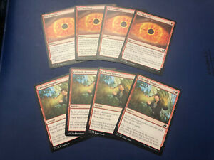 4x FOIL Cathartic Reunion Ikoria Lair of Behemoths MtG MasteringtheGame